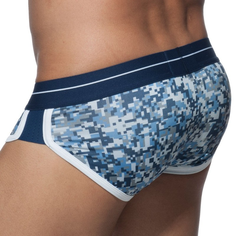 ES Collection Slip Double Side Camouflage Pixel Marine