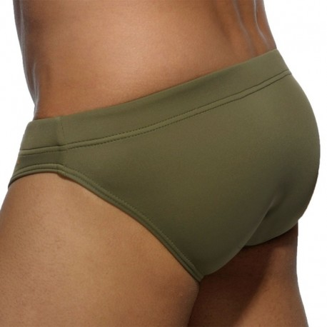 Addicted Basic Colors Swim Brief - Khaki