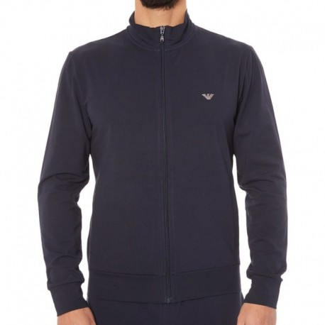 Emporio Armani Zip Basic Loungewear - Navy