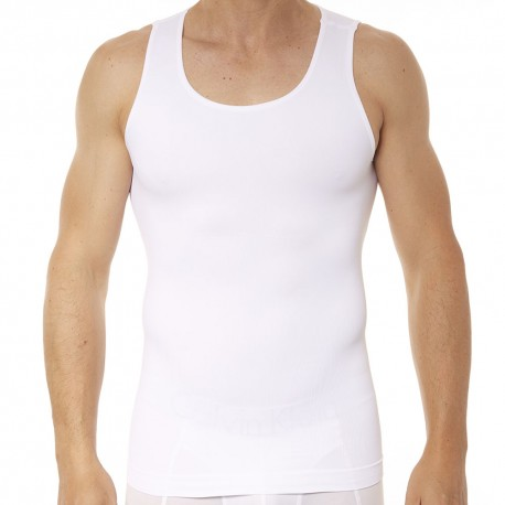 Spanx Zoned Performance Tank Top - White