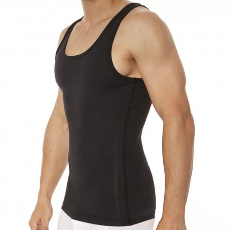 Spanx Débardeur Cotton Compression Noir