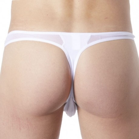 Lookme Wave Thong - White