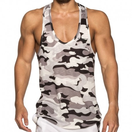 ELIU Camo Tank Top - Grey