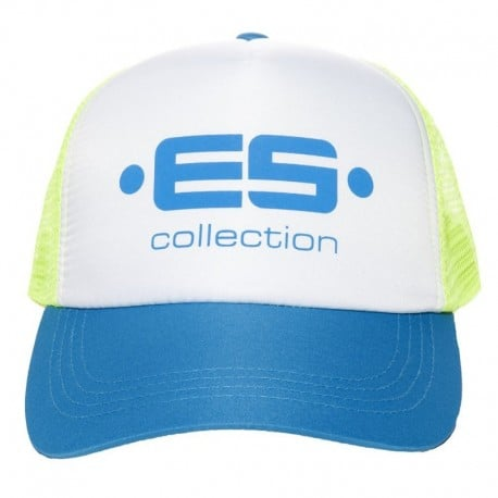 ES Collection Casquette Baseball Print Logo Bleue