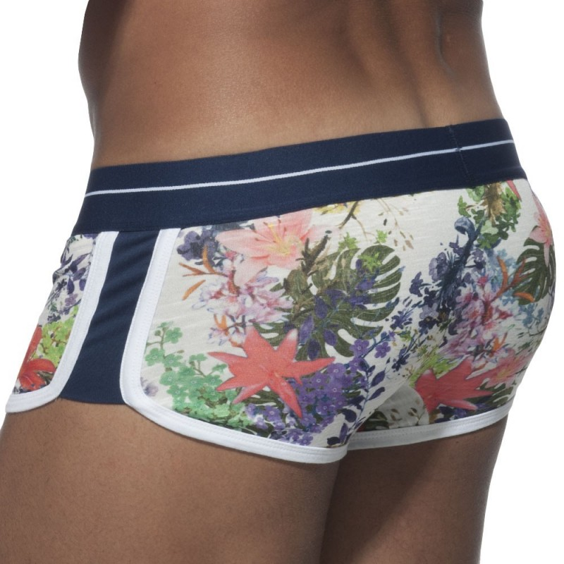ES Collection Shorty Double Side Flower Blanc