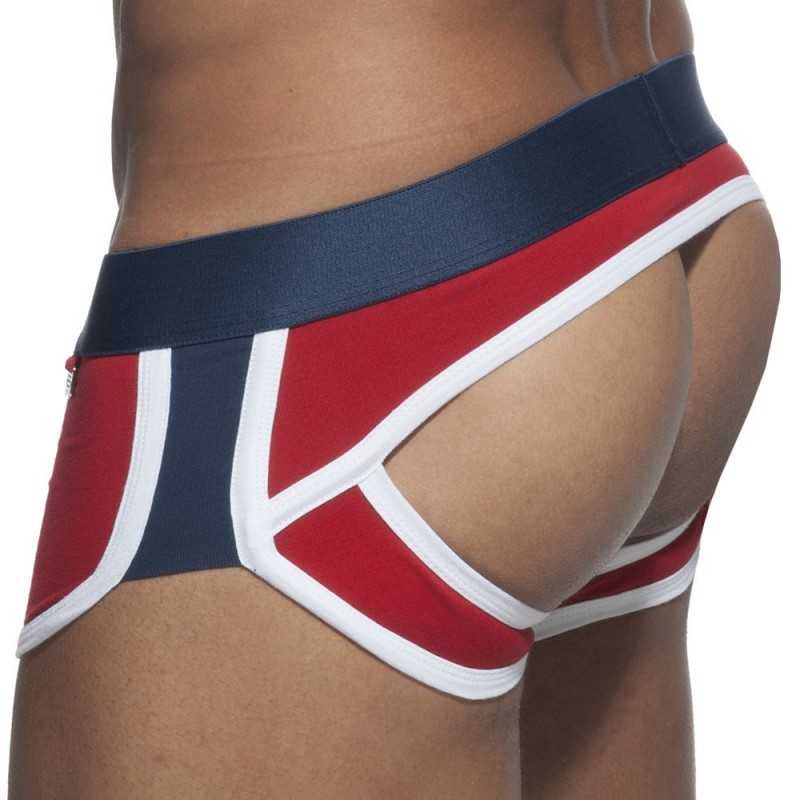 ES Collection Shorty Empty Bottom Double Side Rouge - Marine
