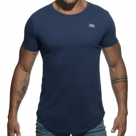 T-Shirt Basic U-Neck Marine