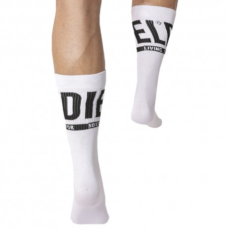 Diesel 3-Pack Sports Socks - White