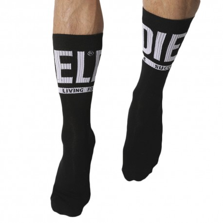Diesel 3-Pack Sports Socks - Black