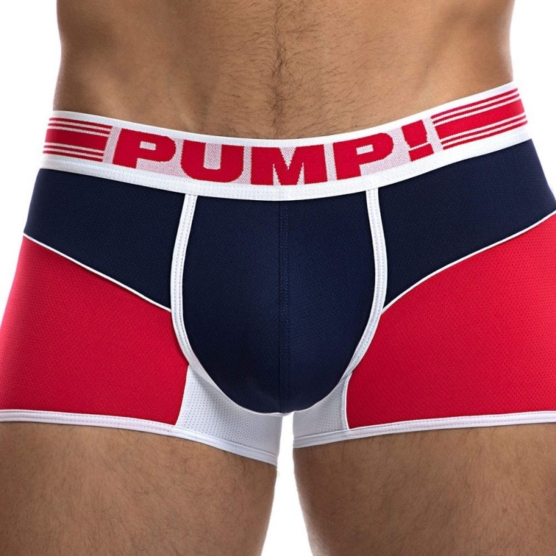 Pump! Boxer Free-Fit Academy Rouge - Marine