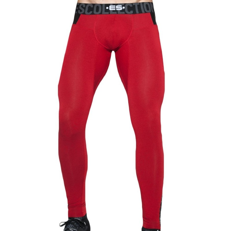 ES Collection Calecon Long Dystopia Rouge
