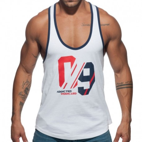 Addicted Sport 09 Tank Top - White
